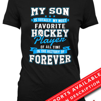 Hockey Shirts For Mothers Hockey Mom T Shirt Mothers Day Gifts Hockey Lover Shirt Hockey Gifts For Mom Sports Fan Gift Ladies MD-665(Hockey)