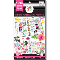 Create 365™ The Happy Planner™ Value Pack Stickers, Today Is the Day