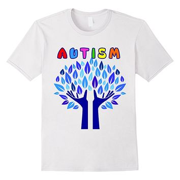 Autism Awareness Flag T-Shirt for Autism Month. 2017