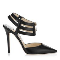 Black Kid Leather Pointy Toe Pumps | Giulia | Cruise 2013 | JIMMY CHOO Pumps