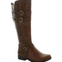 Bella Boots in Brown