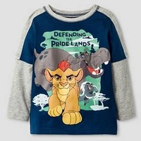 Toddler Boy's The Lion Guard Defending the Pride Land T-Shirt - Navy