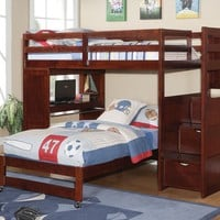 Jacob Bunk Bed with Desk