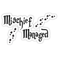 Mischief Managed by LeesaMay