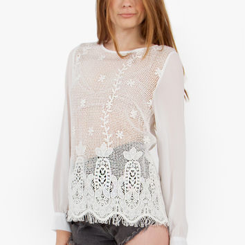 Dreamy Crochet Blouse