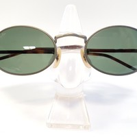 Ray Ban Vintage W2857 Bausch & Lomb New Gatsby Oval Sunglasses NOS VTG Very Rare