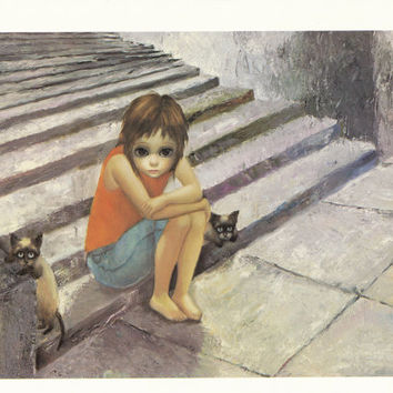 Big Eyes | Vintage Print Photo | 1962 OUT AFTER DARK | Margaret Keane | Walter Keane