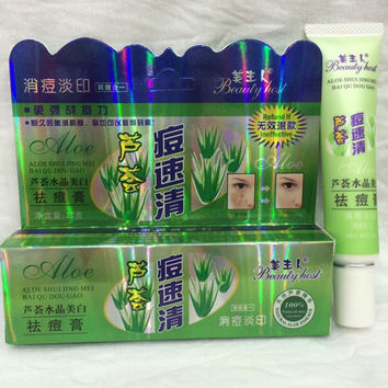 Hot Selling Skin Care Beauty Products Whitening Plaster Natural Plant Ingredients Aloe Acne Curing Cream