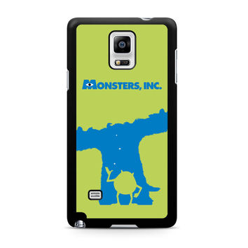 Monster Inc Sulley & Mike Note 4 Case