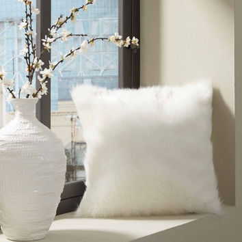 Thro by Marlo Lorenz Chubby Faux Fur Throw Pillow2 Pack - JCPenney