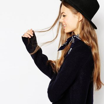 ASOS Felt Panama Hat With Plait Braid Trim NEW IMPROVED FIT at asos.com