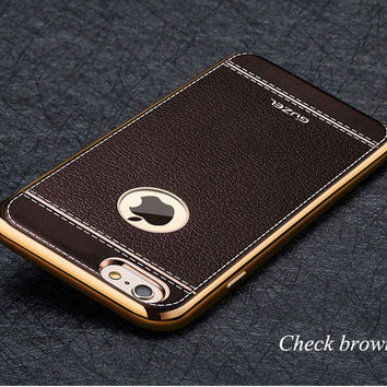 2017 High quality lattice phone case For iPhone 7 Case Series soft material For apple iPhone 7 Plus case fashion covers -0405