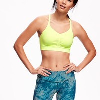 Old Navy Light Support Seamless Sports Bra