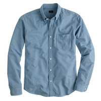 J.Crew Mens Slim Vintage Oxford Shirt In Tonal Cotton