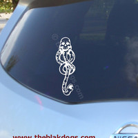 Dark Mark - inspired by Harry Potter Vinyl Sticker Car Decal