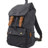Lixmee canvas travelling backpack