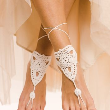 Pearla Barefoot Sandals