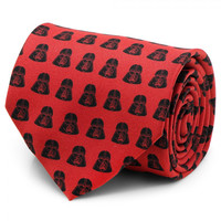 Star Wars Darth Vader Red And Black Mens Tie