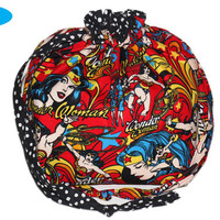 NEW Project Knitting Bag | Wonder Woman | Project Bag | Knitting Drawstring Pouch | Size Medium