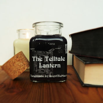 Book Candle, Literature Candle, Bookish Candle, Soy book candle scented, book related candle, gothic candle, book inspired, book gift
