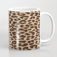 Leopard Print Coffee Mug by Smyrna