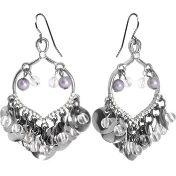 Hollywood Enchantment Disc Drop Chandelier Earrings