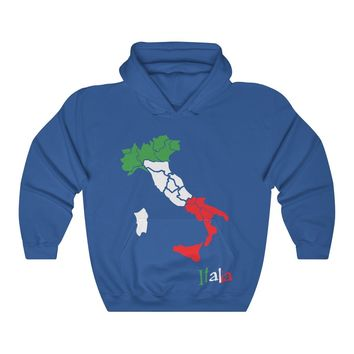 Italy Hoodie | Italian Country Hooded Sweater