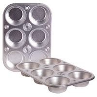 Bulk Cooking Concepts 6-Cup Steel Muffin Pans at DollarTree.com
