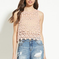 Floral Crochet Top | Forever 21 - 2000151665