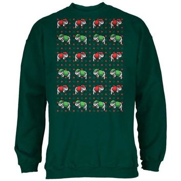 PEAPCY8 Meowwy Christmas Ugly XMas Sweater Forest Adult Sweatshirt