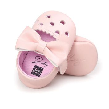 Girls Sweet Mary Jane Big Bow Ballet Flats