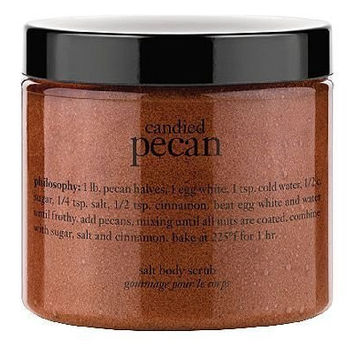 Philosophy Candied Pecan Salt Body Scrub - 23 Ounces!