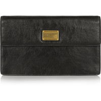 Marc by Marc Jacobs - Nifty Gifty Jemma metallic leather clutch