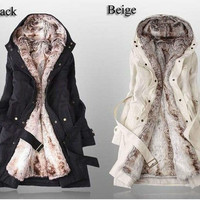 Warm girl coat jacket