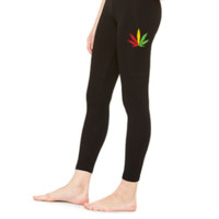 MARIJUANA JAMAICAN COLOR - LEGGING