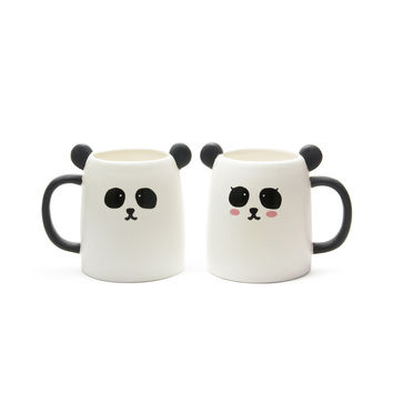 So into this design on Fab! Panda Mug Set Of 2 #FabForAll