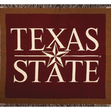 Throw Blanket - Texas State