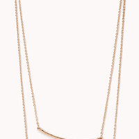 Minimal Layered Necklace