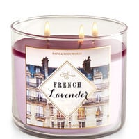 French Lavender 3-Wick Candle | Bath And Body Works