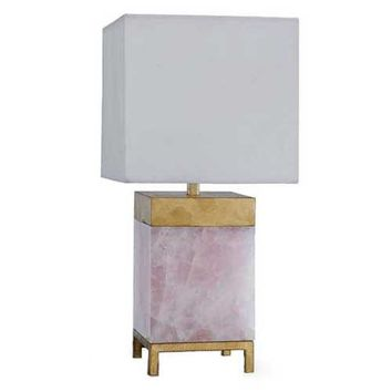 Regina Andrew Jillian Lamp - Rose Quartz | New Lighting | What's New! | Candelabra, Inc.