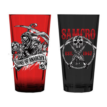 Sons Of Anarchy Pub Glass Set