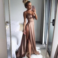 Sexy Hot Sale Slim Prom Dress One Piece Dress [11745143375]