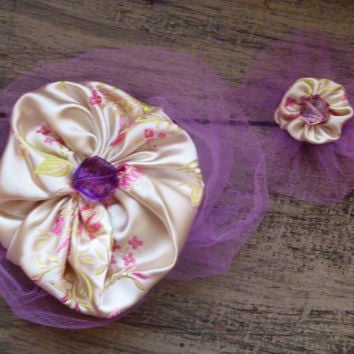 Girl's Hair Clips - Set of Two