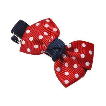 JECKSION Red HairBows Hair Clips 2017 New Fashion Dot for  Girls Kids #LSIN