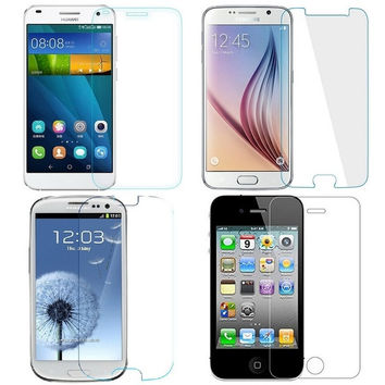 for Samsung Galaxy S4 mini / Huawei G7/ iphone 4 4S /Sumsung S3 / Sumsung S6 Glass screen protector toughened glass membrane explosion proof tempered glass film = 1705651332