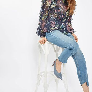 Floral Ruffle Blouse | Topshop