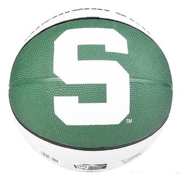 "9.5"" MICHIGAN STATE SPARTANS REGULATION BASKETBALL"