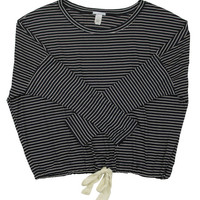 Dockside Stripes Slouchy Tee