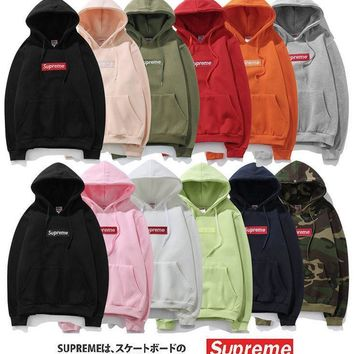 Supreme Classic Box Logo Hoodie - (12 colors)