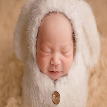 Soft Sleeping Bag Hat Set Baby Photo Prop (Multiple Colors Available) - CCC301